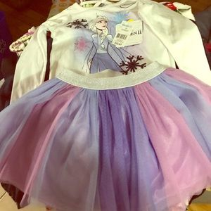 Frozen kid outfit 3T